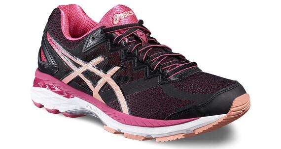 asics GT-2000 4 Shoe Women Black/Peach Melba/Sport Pink